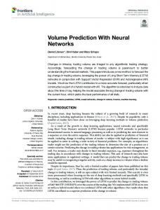 Volume Prediction With Neural Networkswww.researchgate.net › publication › fulltext › Volume-P