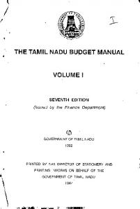 VOLUME] - Tamil Nadu Public Service Commission