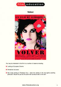 Volver - Film Education