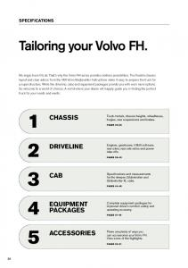 Volvo FH Series, Specifications
