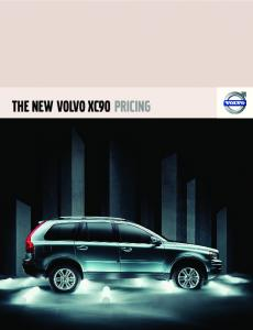 Volvo XC90 MY 2007 Prices and Specifications