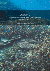 Vulnerability of coral reefs of the Great Barrier ... - GBRMPA ELibrary
