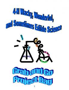 Wacky and Edible Science Guide (PDF)