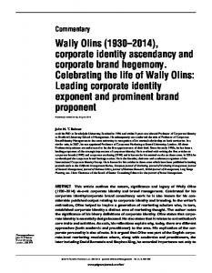 Wally Olins - SSRN papers