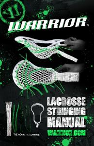 Warrior.com: Lacrosse Stringing Manual