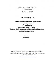 washington and lee - SSRN papers
