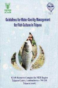 Water Quality Management for Fish Culture in Tripura - ICAR Tripura