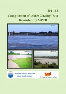 Water Quality Report 2011-12 - Maharashtra Pollution Control Board