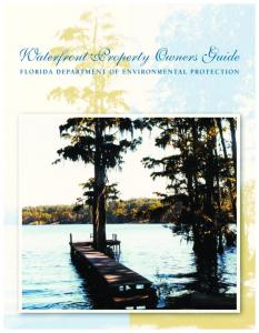 Waterfront Property Owners Guide