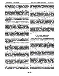 Wave-particle duality and uncertainty principle - Physical ...www.researchgate.net › publication › fulltext › Wave-part