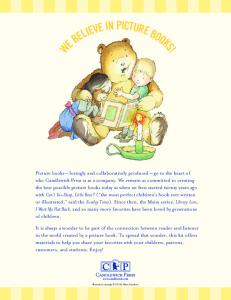 We Believe in Picture Books Activity Kit