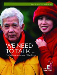 We Need to Talk: Family Conversations with ... - Vehicle Insurance