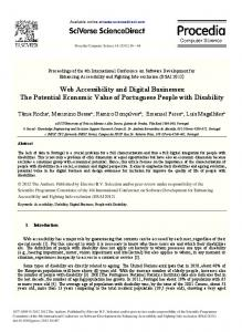 Web Accessibility and Digital Businesses: The ...