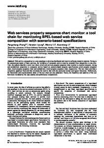 Web services property sequence chart monitor: a tool ... - IEEE Xplore