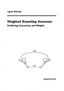 Weighted Branching Automata - Semantic Scholar