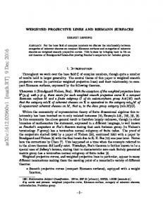 Weighted projective lines and Riemann surfaces