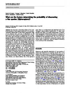 What are the factors determining the probability of ... - Springer Link