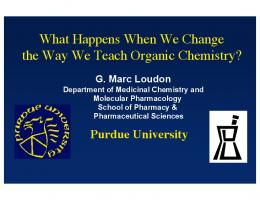 What happens when we change the way we teach organic chemistry?
