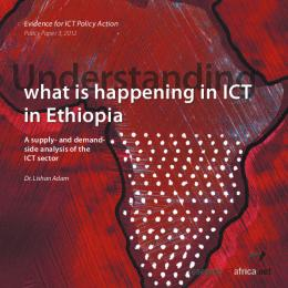 what is happening in ICT in Ethiopia - Research ICT Africa