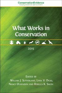 What Works in Conservation - Conservation Evidence