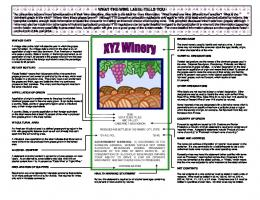 What You Should Know About Grape Wine Labels - TTB