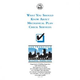 What You Should Know About Mechanical Plan Check Services (PDF)