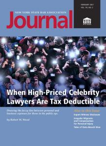 When High-Priced Celebrity Lawyers Are Tax Deductible - SSRN papers