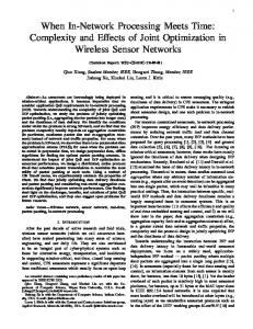 When In-Network Processing Meets Time ... - Computer Science