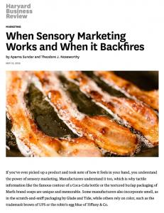 When Sensory Marketing Works and When it Backfires