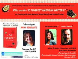 Who are the 50 FUNNIEST AMERICAN WRITERS? *