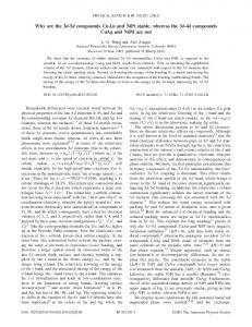 Why are the 3d-5d compounds CuAu and NiPt stable, whereas the 3d