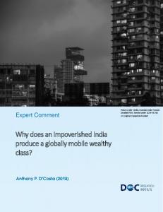 Why does an impoverished India produce a globally mobile wealthy