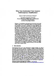 Why Does Synthesized Data Improve Multi-sequence ... - Gijs van Tulder
