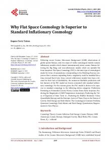 Why Flat Space Cosmology Is Superior to Standard Inflationary