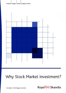 Why Stock Market Investment? - Affinity Consulting Group
