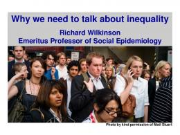 Why we need to talk about inequality - Ver.di