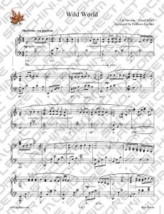 Wild World Sheet Music - Fariborz Lachini