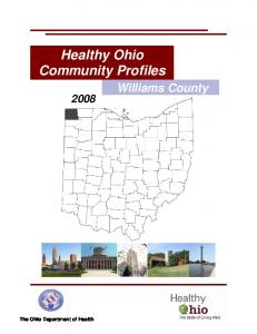 Williams 2-12 - Healthy Ohio - State of Ohio