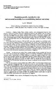 Wilson 2001. Tees seal population growth - Seal research, rescue ...