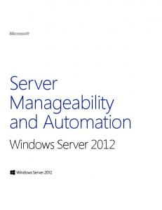 Windows Server 2012 - Microsoft Download Center