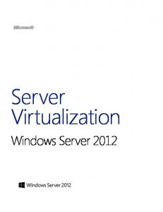Windows Server 2012 Server Virtualization - Microsoft Download ...