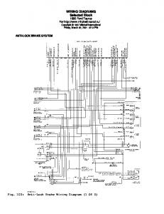 WIRING DIAGRAMS Selected Block