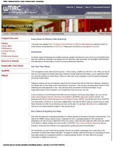 WMRC - Information Services - Library - Reference ... - IDEALS @ Illinois