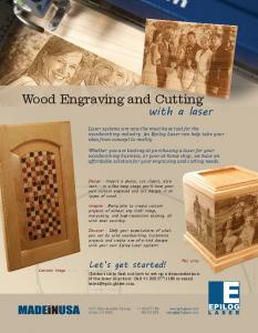 Wood Engraving and Cutting