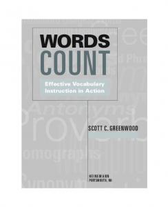 Words Count: Effective Vocabulary Instruction in Action