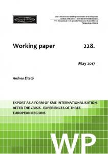 Working paper 228.