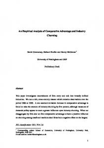 Working Paper - European Trade Study Group