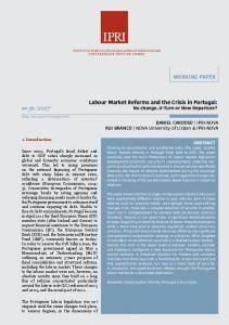 WORKING PAPER Labour Market Reforms and the Crisis in ... - IPRI