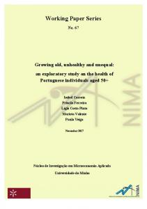 Working Paper Series - Universidade do Minho
