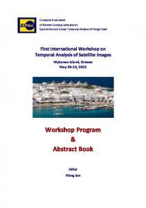 Workshop Program & Abstract Book